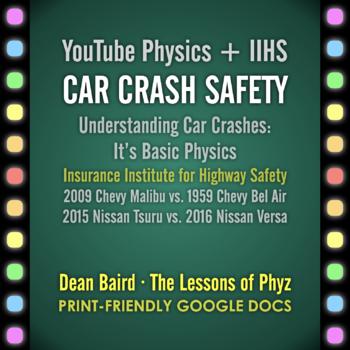 YouTube Physics + IIHS: Car Crash Safety