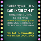 YouTube Physics + IIHS: Car Crash Safety