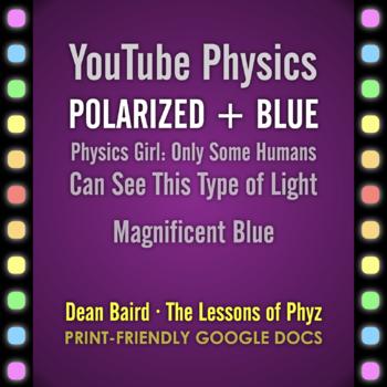 YouTube Physics: Polarized + Blue