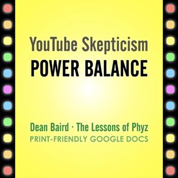 YouTube Skepticism: Power Balance