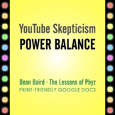 YouTube Skepticism: Power Balance