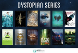 Young Adult Literature Recommendation Poster - Dystopian Series