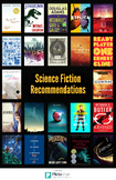 Young Adult Literature Recommendation Poster - Science Fiction