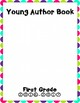 Young Author Book Cover {First Grade}