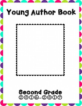 Young Author Book Cover {Second Grade}