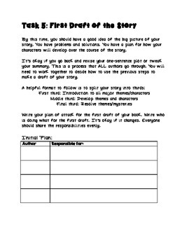 Kids Are Authors Fiction Book Writing Project/Contest - Intermediate