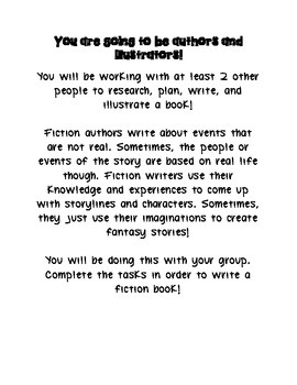 Kids Are Authors Fiction Book Writing Project/Contest - In