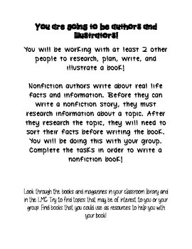 Kids Are Authors Nonfiction Book Writing Project/Contest - Elementary