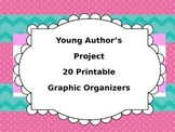 Narrative Writing- 20 Printable Graphic Organizers to Stud