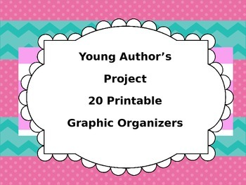 Narrative Writing- 20 Printable Graphic Organizers to Stud