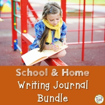School and Home Writing Journal Bundle