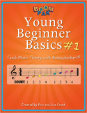 Young Beginner Basics – Pak #1 -Teach Music Theory with Boomwhackers®