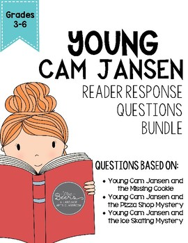 Young Cam Jansen CCSS Book Bundle for Primary or Middle Gr