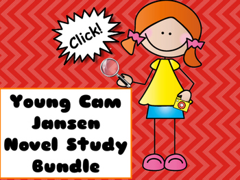 Young Cam Jansen Novel Study Bundle