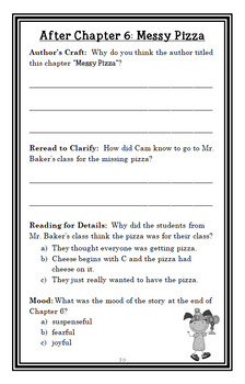 Young Cam Jansen and the 100th Day of School Mystery (Adler) Novel Study