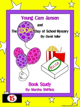 Young Cam Jansen and the 100th Day of School Mystery Book Study
