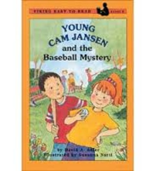 Young Cam Jansen and the Baseball Mystery Comprehension Packet
