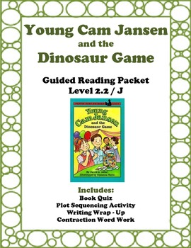Young Cam Jansen and the Dinosaur Game: Guided Reading Packet