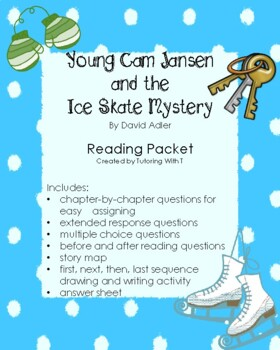 Young Cam Jansen and the Ice Skate Mystery Reading Comprehension
