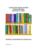 Young Cam Jansen and the Library Mystery Reading Comprehension Question
