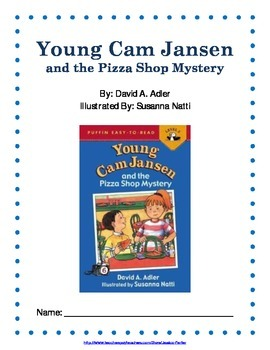 Reading Guide: Young Cam Jansen and the Pizza Shop Mystery
