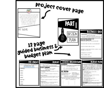 Young Entrepreneur Independent Business Planning Project