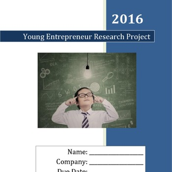Create Your OWN Business! Project (Print and Go!)