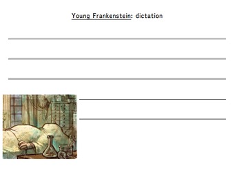 Young Frankenstein Literacy Activity