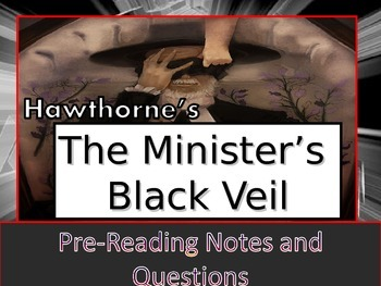 """""""Young Goodman Brown"""" and """"The Minister's Black Veil"""" Double Pack PowerPoint"""