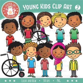 Kids Clip Art – Set 2