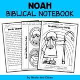 Noahs Ark Bible Lessons Notebook