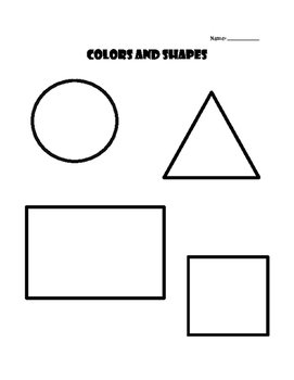 Young Learners ESL (Lesson 4) - Colors and Shapes