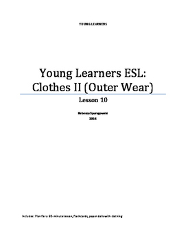 Young Learners ESL (Lesson 10) - Clothing II