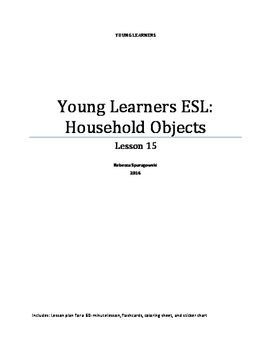 Young Learners ESL (Lesson 15) - Household Objects