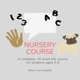 Young Learners ESL - Nursery Course Booklet