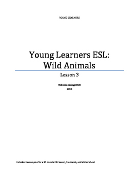 Young Learners ESL (3) - Wild Animals