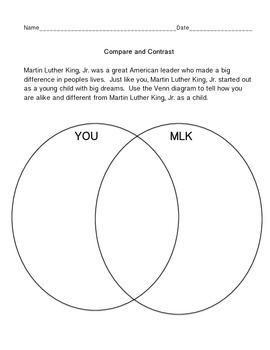 Young Martin Luther King, Jr. Comprehension and Activity Pack