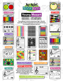 Young Mozart Music Station / Boom Boom the Bass Drum = (18 ebooks) = 500+Pages