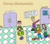 Young Renaissance Thinkers Cartoons - The Young Machiavelli