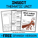 Thematic Unit - Insect Activities