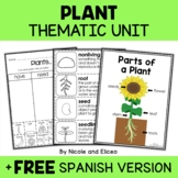 Thematic Unit - Plant Activities