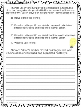 Young Thomas Edison-Journey... by Read All About It | Teachers Pay ...