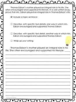 Young Thomas Edison-Journeys Grade 3-Lesson 10