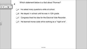 Young Thomas Edison Journeys HM