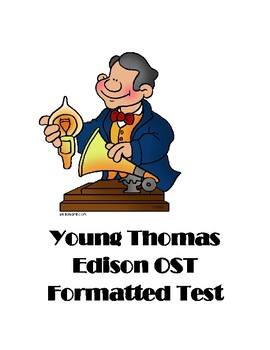 Young Thomas Edison OST Formatted Test