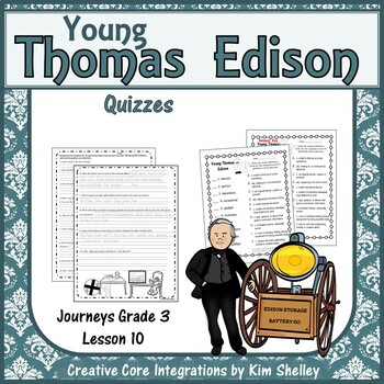 Young Thomas Edison Quizzes
