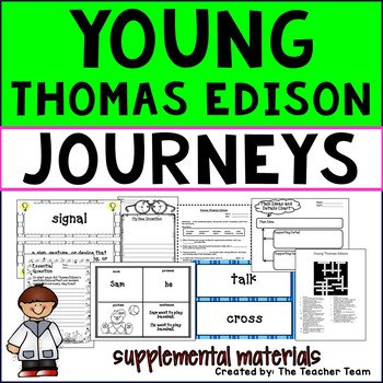 Young Thomas Edison Journeys Third Grade Supplemental Materials