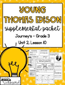 Young Thomas Edison - Supplemental Materials