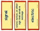 Young Thomas Edison, Vocabulary Cards, Unit 2, Lesson 10, Journeys 3rd Grade