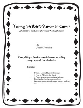 Young Writer's Camp  - A Creative Writing Course